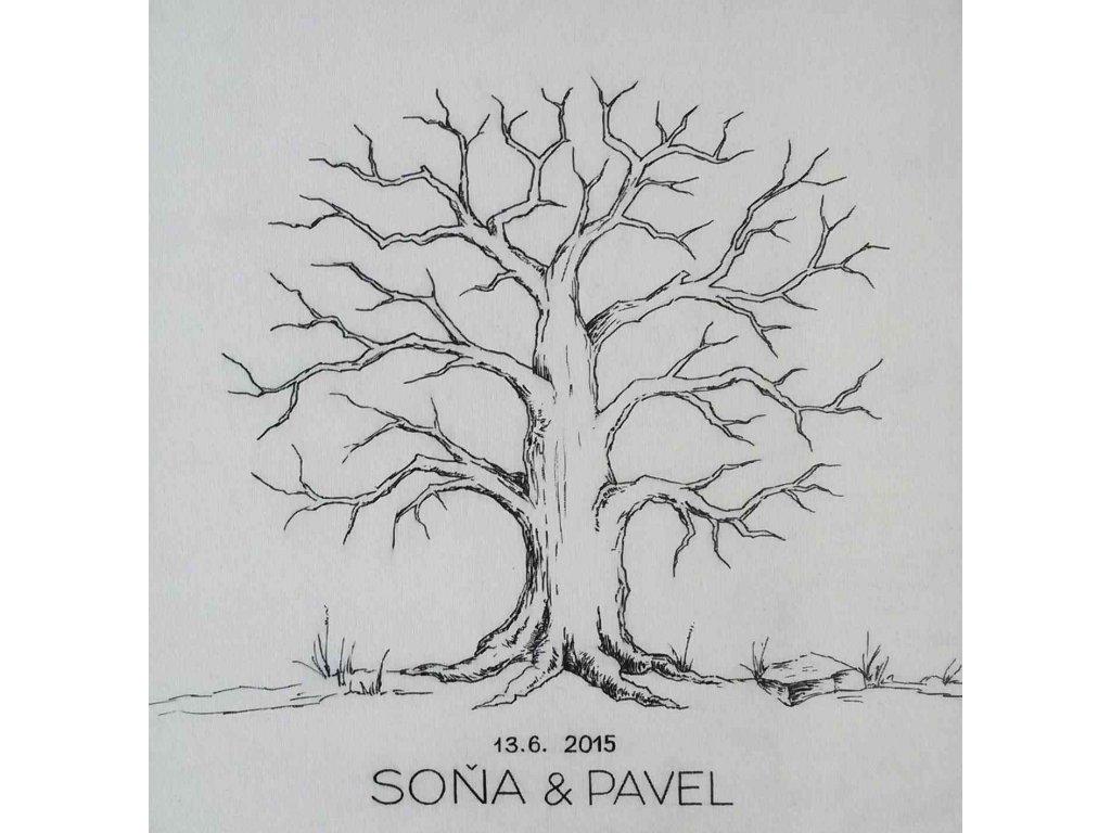 Svatební strom Originální sada