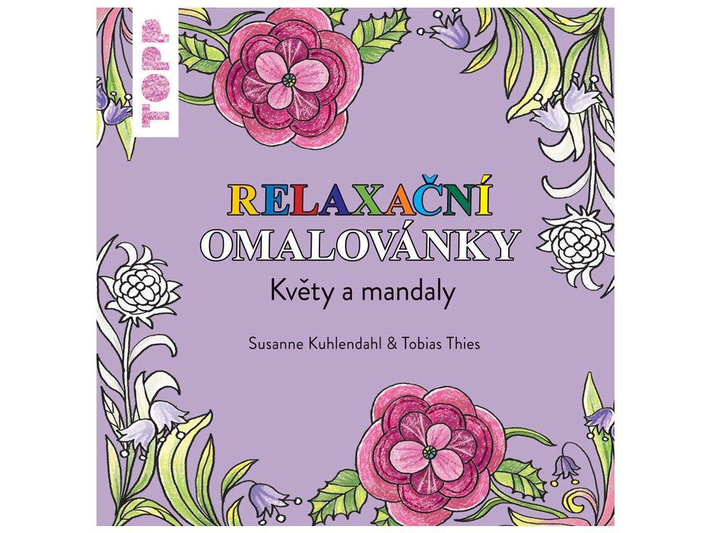 TOPP Relaxační omalovánky Květiny a mandaly
