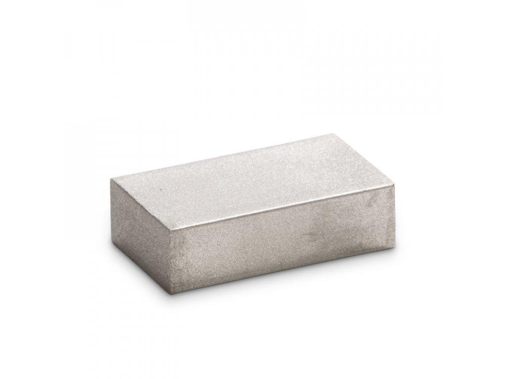 BLOK 26 metalická stříbrná