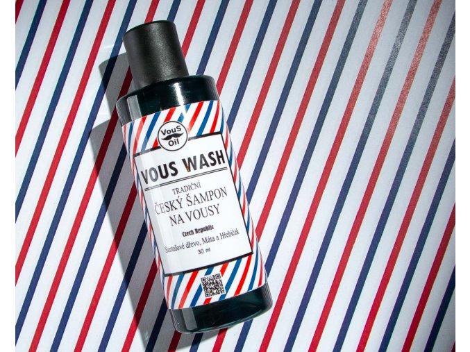 Vous Wash - Santalové dřevo, Máta, Hřebíček