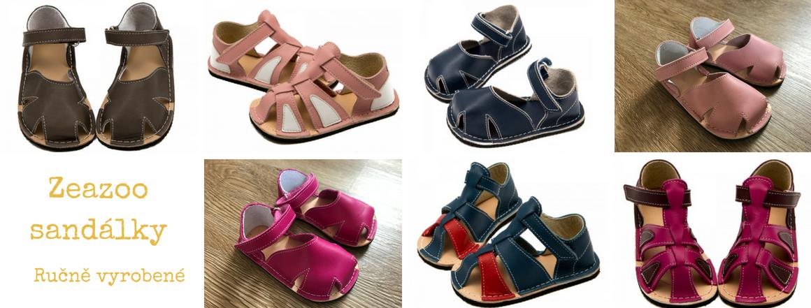 Zeazoo sandálky