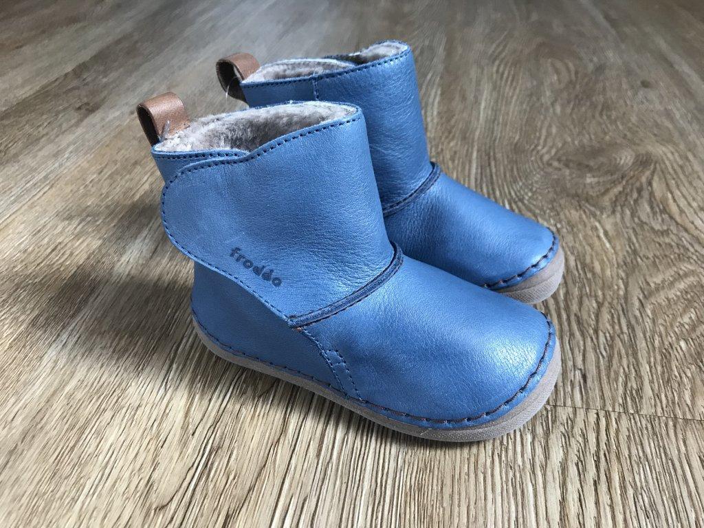 Froddo Flexible modré (válenky) - kožená dětská zimní obuv - V pavučině 9a7e2f7976