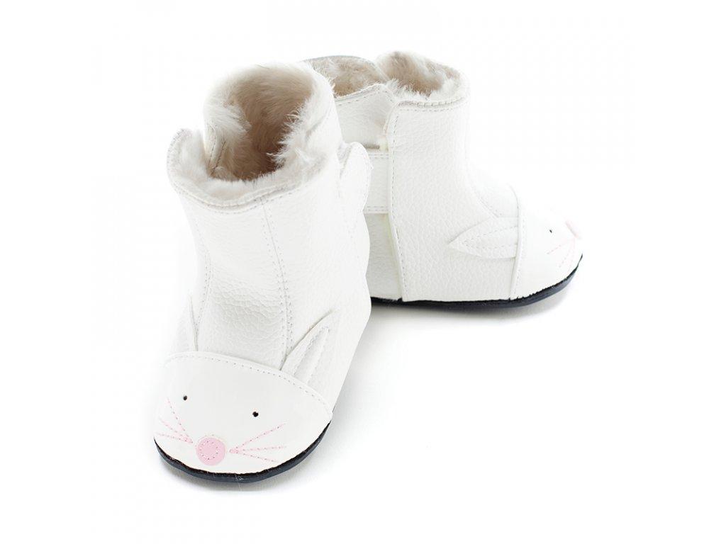 Jack   Lily BAMBI (My Mocs Boots) - dětská zimní obuv - V pavučině b4e233628a