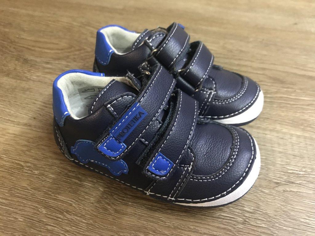 343011becbd0 Protetika Levis (modré) - dětská celoroční obuv - V pavučině