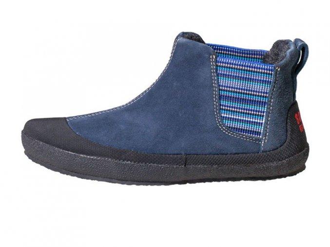 Sole Runner Portia Blue/Black - dětská celoroční zateplená obuv