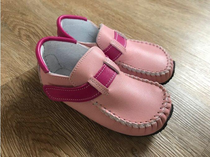 ZeaZoo Leo Pink - dětská celoroční obuv