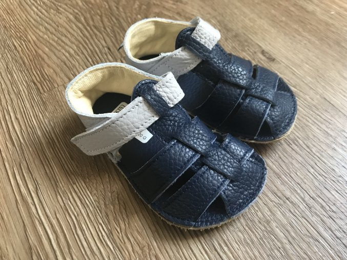 Baby Bare Shoes Sandals New - Gravel