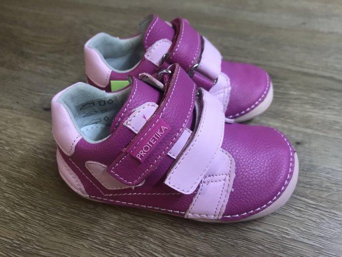 Protetika Pony (růžové) - dětská celoroční obuv