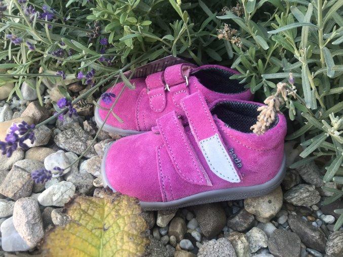 Beda Barefoot Rebecca (kotníkové, s membránou) - dětská celoroční obuv