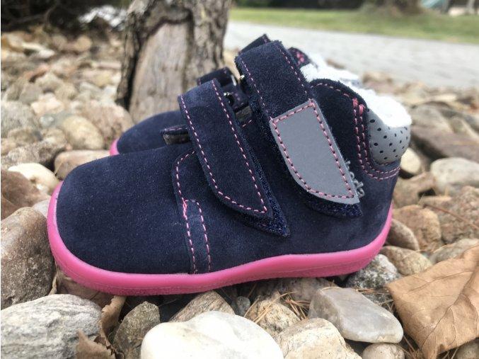 Beda Barefoot menší velikosti (22 - 24) - dětská zimní obuv