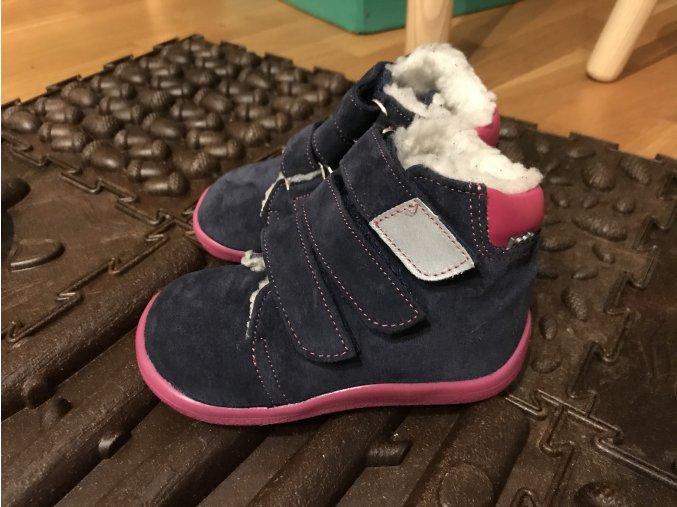 Beda Barefoot Elisha - dětská zimní obuv