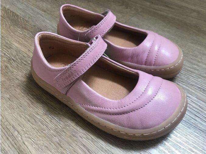 Froddo barefoot baleríny (růžové) - kožená dětská celoroční obuv
