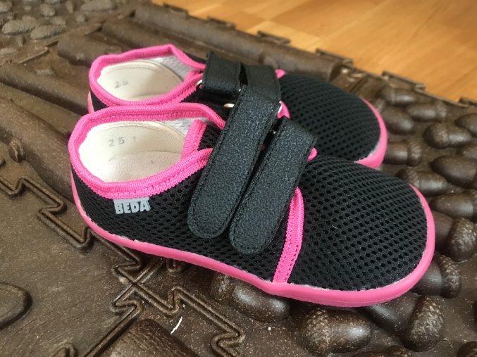 Beda Barefoot Anette (suchý zip) - dětská celoroční obuv