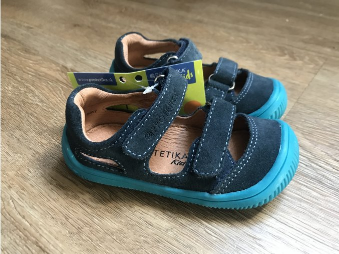 Protetika Berg navy - dětská letní obuv, sandály