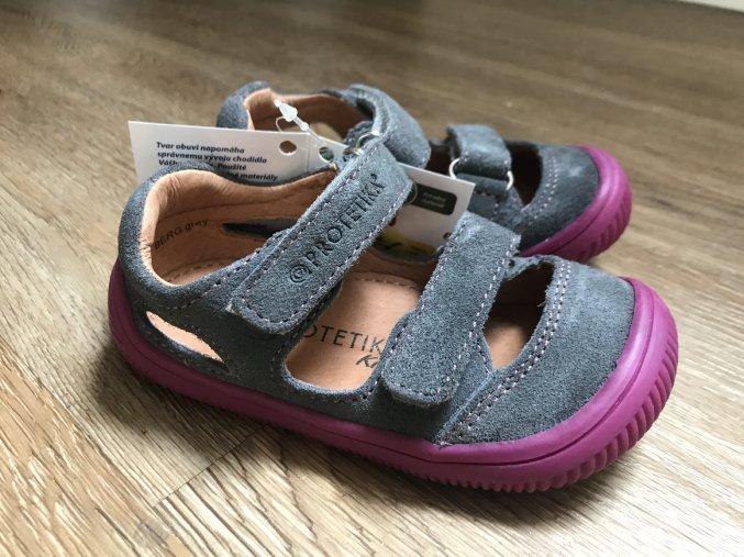 Protetika Berg grey - dětská letní obuv, sandály