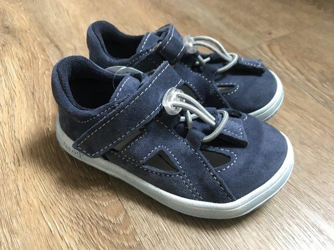 Jonap Barefoot B9S (modrá) - dětská letní obuv