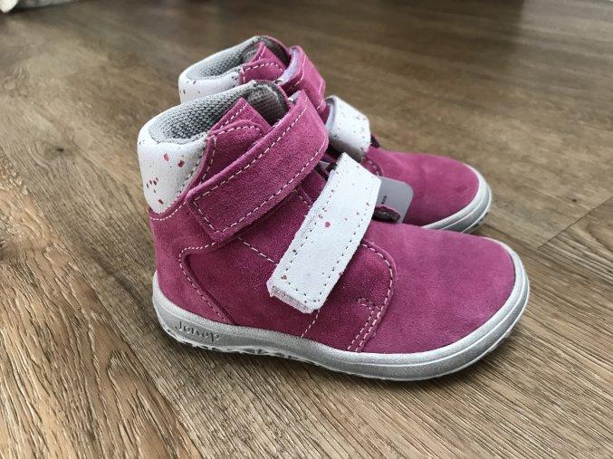 Jonap Barefoot model B2/SV růžová - dětská celoroční obuv