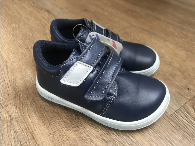 Jonap Barefoot model B1/MV SLIM modrá - dětská celoroční obuv