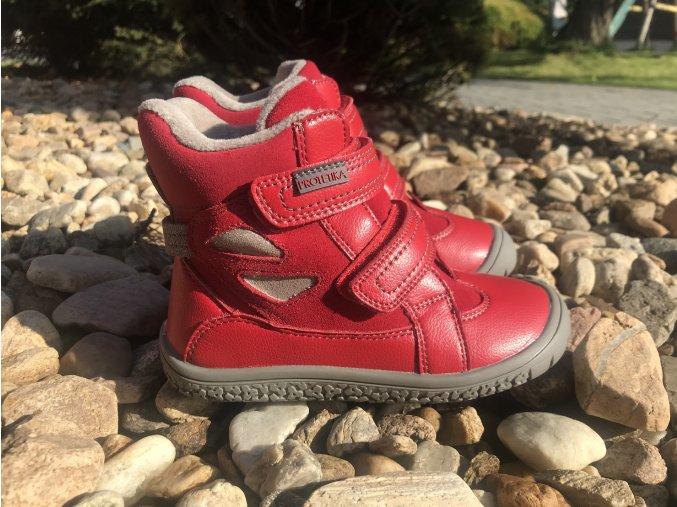 Protetika Elis (červené, modré) - dětská zimní obuv