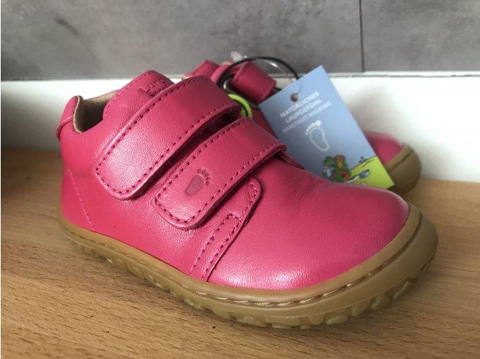 Lurchi Noah Rosa - kožená dětská celoroční obuv