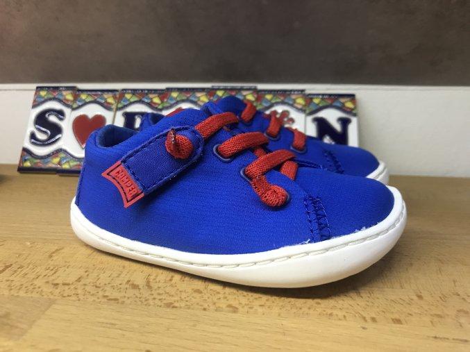 Camper Peu Cami Blue - dětská látková obuv