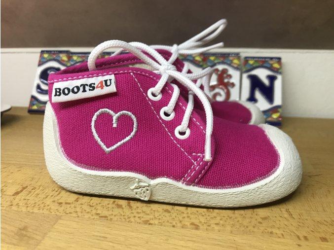 Boots4U tenisky (různé barvy) - dětská textilní obuv