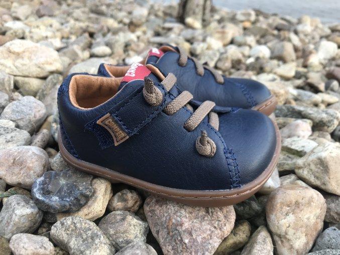 Camper Peu Cami Blue - dětská kožená obuv