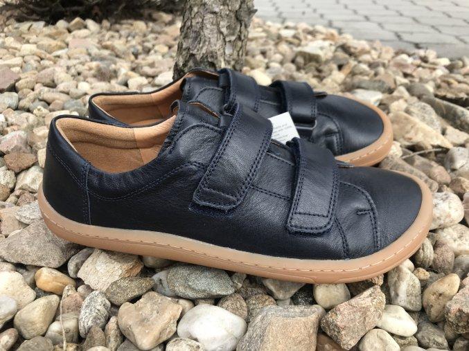 Froddo barefoot G3130176 (tmavě modré) - kožená celoroční obuv