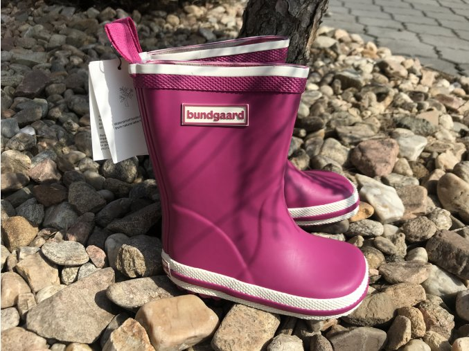 Bundgaard Classic Rubber Boots (růžové) - dětské holínky