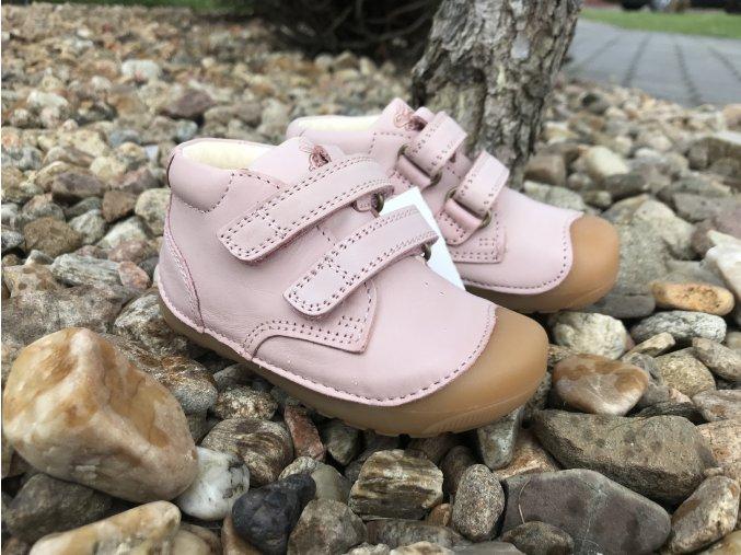 Bundgaard Petit Old Rose - dětská celoroční obuv