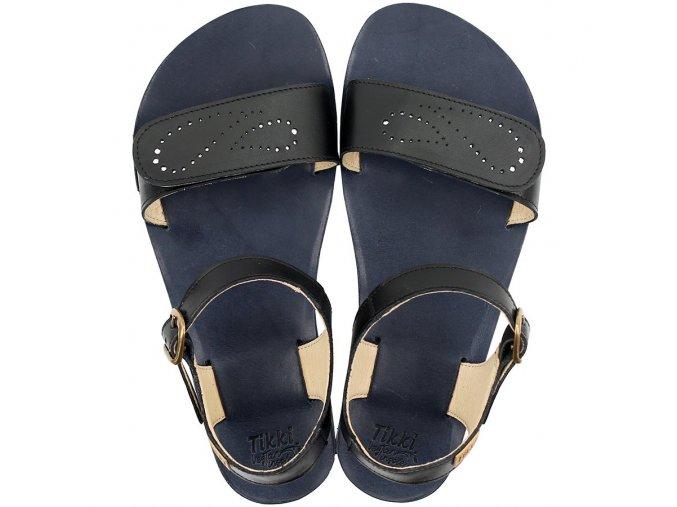 vibe barefoot women s sandals infinity black 21661 4