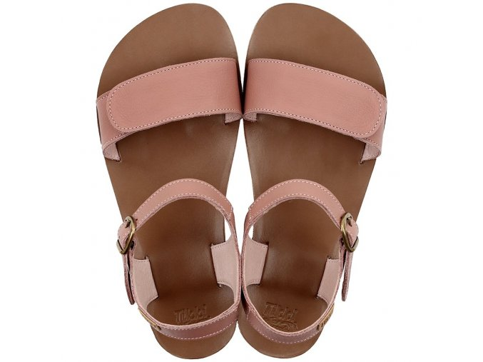 funky vibe barefoot women s sandals dusty pink 21709 4