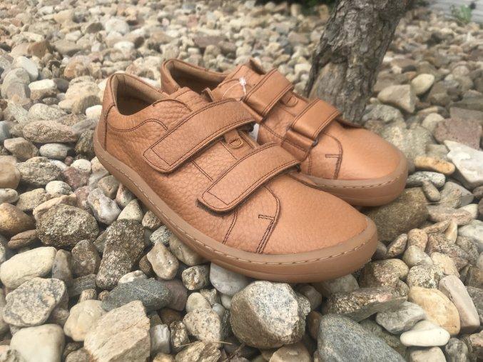Froddo barefoot G3130186-3 (cognac) - kožená celoroční obuv