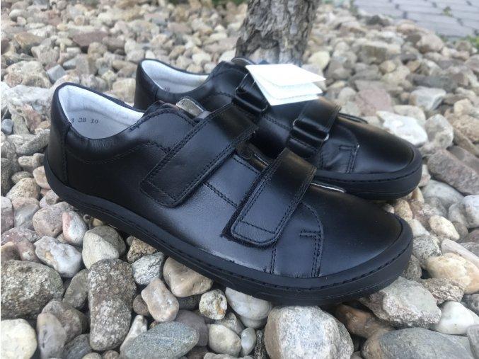 Froddo barefoot G3130187 (černé) - kožená celoroční obuv
