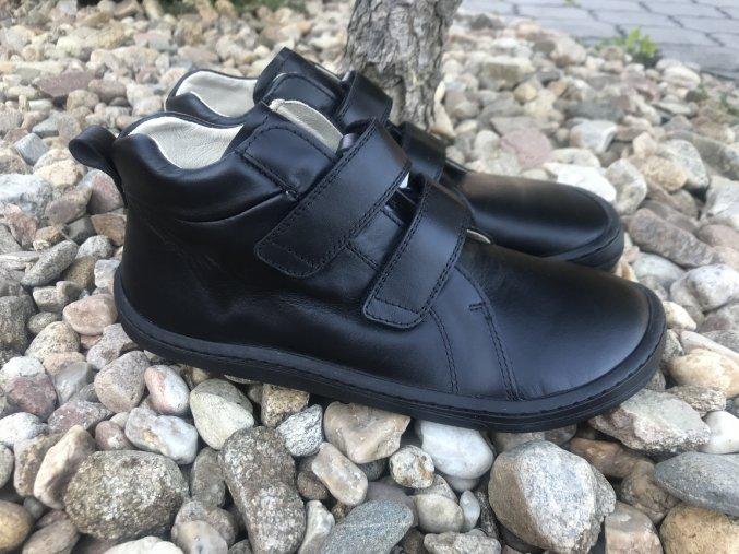 Froddo barefoot G3110193 (černé, vyšší) - kožená celoroční obuv