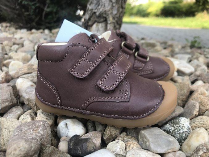 Bundgaard Petit Brown - dětská celoroční obuv