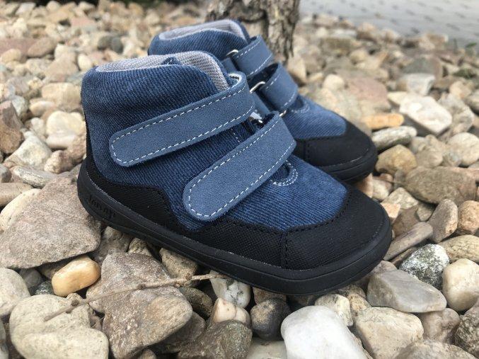 Jonap Barefoot Bella riflové (S) - dětská celoroční obuv
