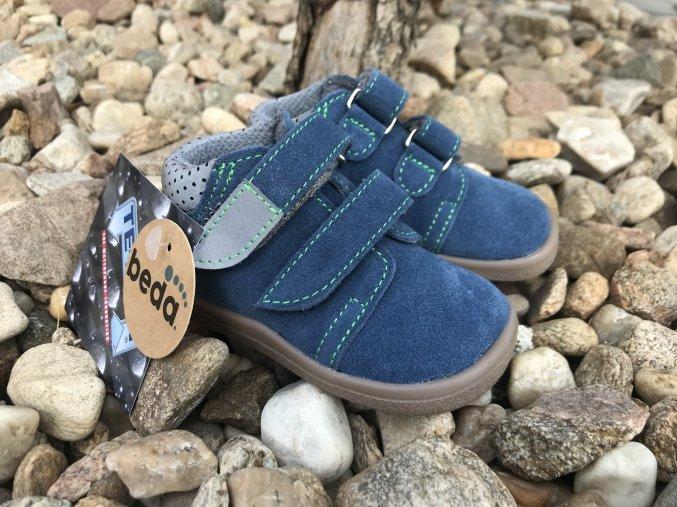 Beda Barefoot Mateo (s membránou, zúžená verze) - dětská celoroční obuv
