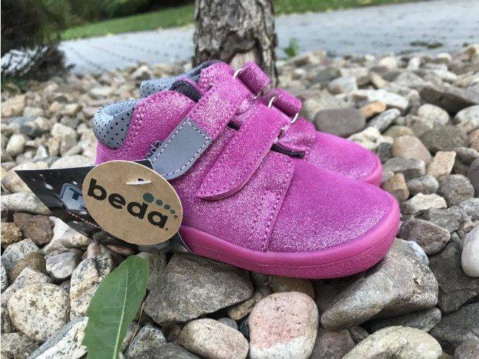 Beda Barefoot Janette (s membránou, zúžená verze) - dětská celoroční obuv