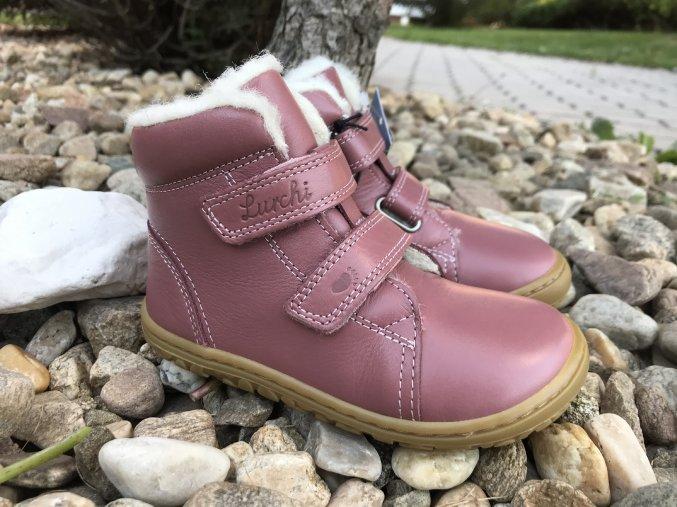Lurchi Nik (různé barvy) - kožená dětská zimní obuv