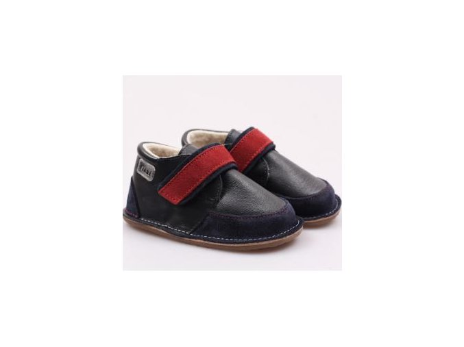 Ghete blana Red Navy