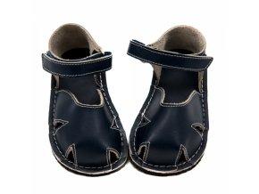 Zeazoo Nemo Dark Blue - dětská letní obuv - sandály
