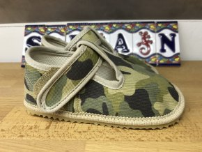 Beda Barefoot vojenské - přezůvky (širší)