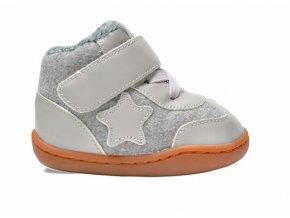 Little Blue Lamb Beluba grey - dětská zimní obuv