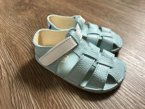 Baby Bare Shoes Sandals New - Acqua