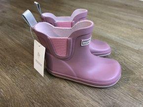 Bundgaard Short Classic Rubber Boots (starorůžové) - dětské holínky
