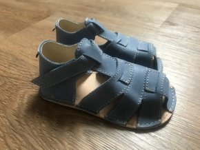Orto+ Barefoot Palm D201 (modré) - dětská letní obuv, sandály