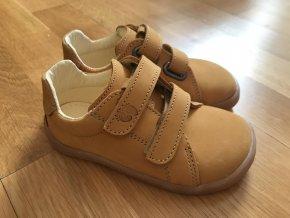 Baby Bare Shoes Febo Spring (Mustard) - dětská celoroční obuv