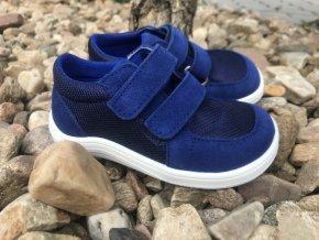Baby Bare Shoes Febo Sneakers (grey, red, navy) - dětská celoroční obuv