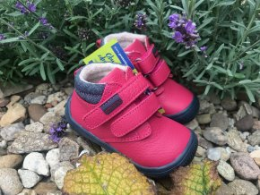 Protetika Harper fuxia - dětská zateplená obuv